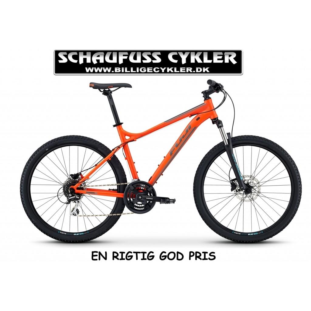 "2020 - FUJI NEVADA 27,5 4.0 LTD - 13"" - RED-ORANGE | mountainbike"
