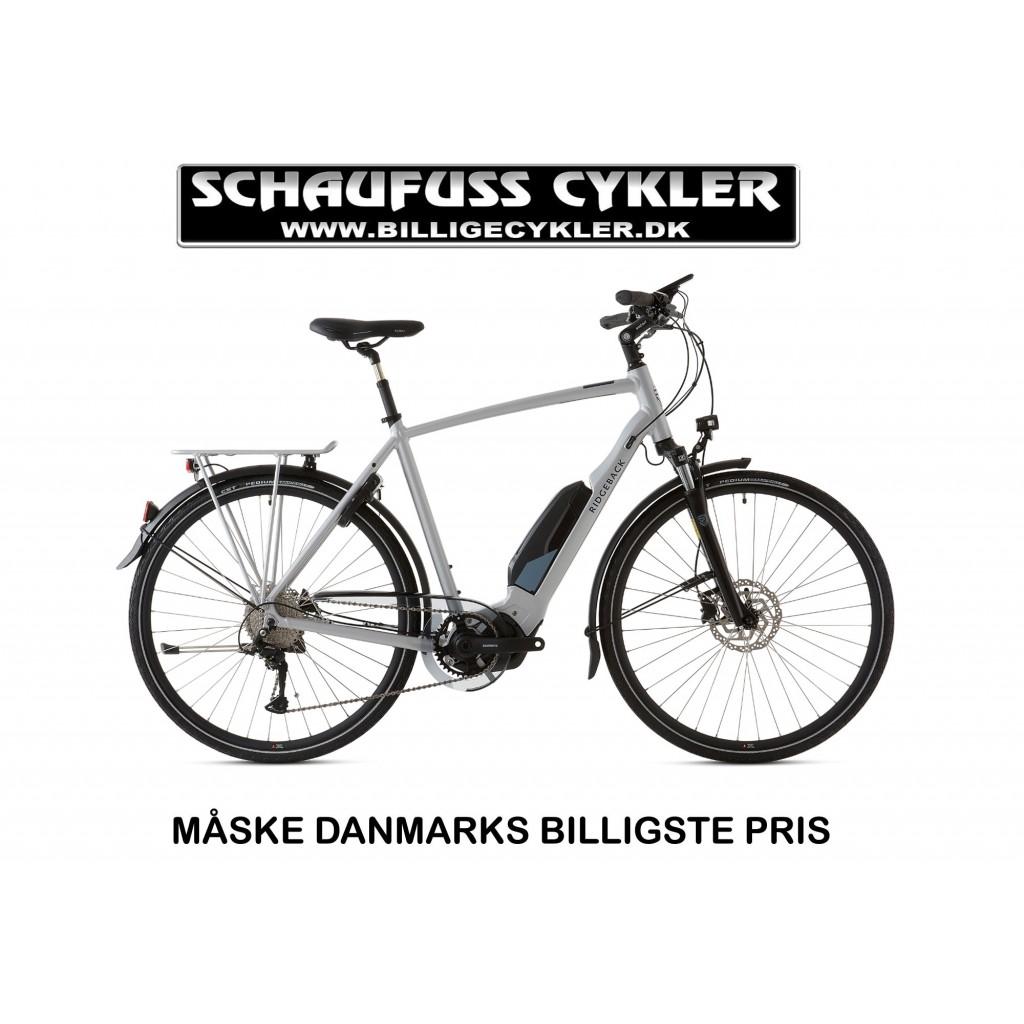 2020 - RIDGEBACK CYCLONE GENT 418WH - S/M - GRÅ   el-cykel