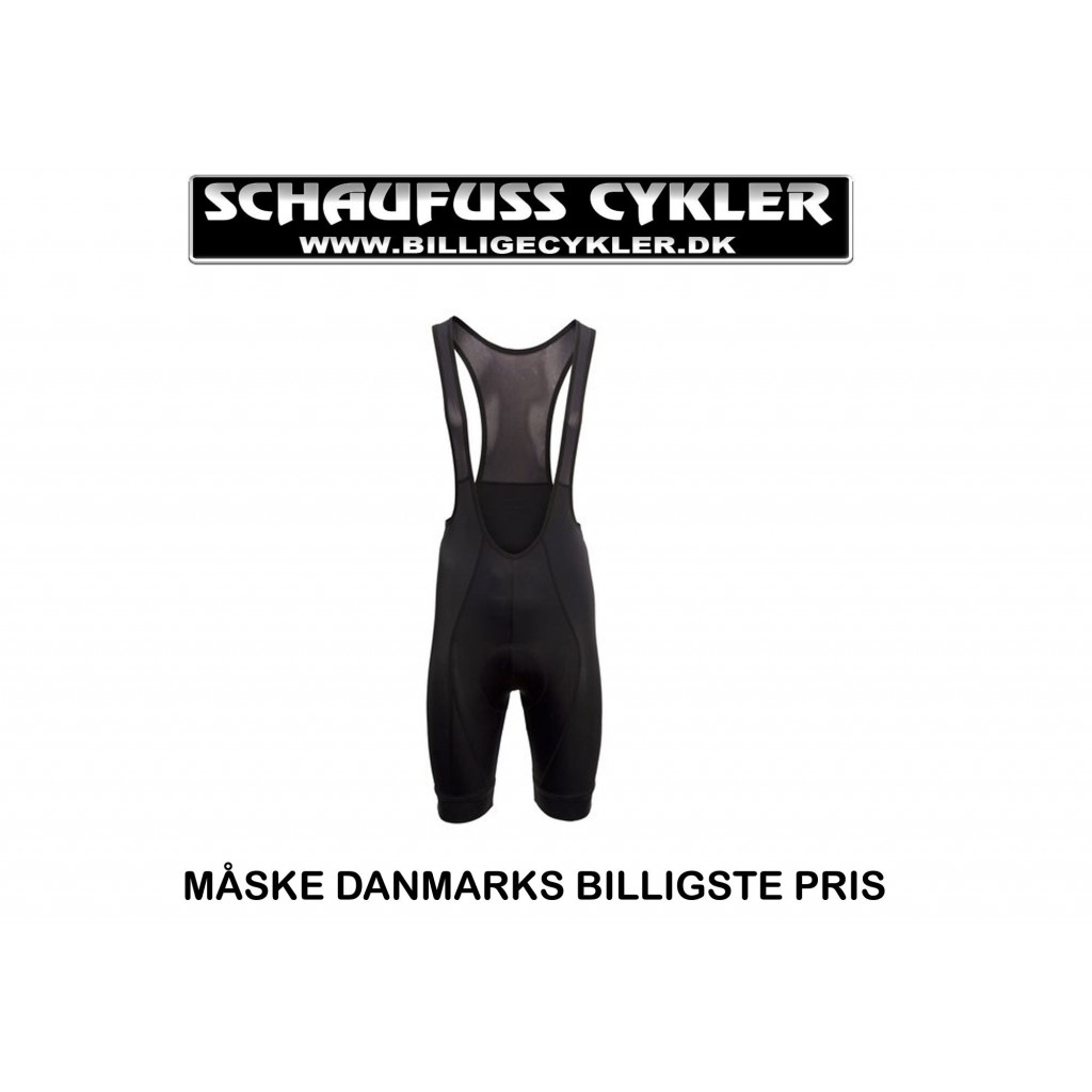 AGU ESSENTIAL BIBTIGHTS WITH PAD - L - SORT | cykelbuks