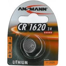ANSMANN CR1620 LITHIUM BATTERI 3V
