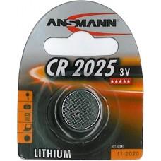 ANSMANN CR2025 LITHIUM BATTERI 3V