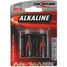 ANSMANN LR14 C ALKALINE BATTERIER 1,5V