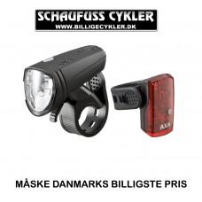 AXA LYGTESÆT GREENLINE USB CHARGED
