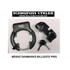 AXA SOLID+ RINGLÅS MED BOSCH GEN. 2 LÅSECYLINDER - Ø58MM - SORT