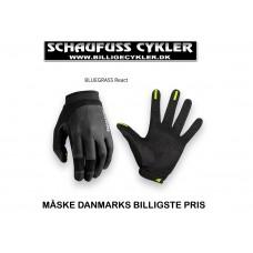 BLUEGRASS REACT MTB HANDSKE - S - BLACK