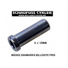 BREMSEBOLT TIL BAGSTEL - 6 X 10MM - SØLV