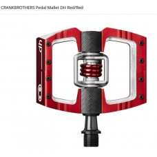 CRANKBROTHERS PEDALER MALLET DH - RED-RED