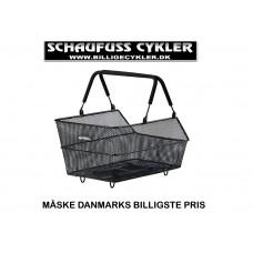 CYKERLKURV TIL BAGAGEBÆRER PASSER TIK MIK SYSTEMER - 45 X 31 X 21CM - SORT