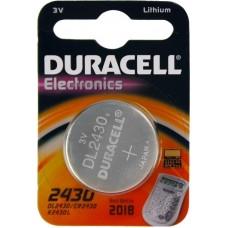 DURACELL CR2430 LITHIUM BATTERI 3V