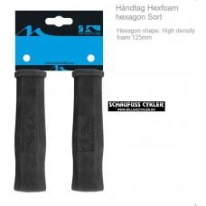 HÅNDTAGE HEXFOAM HEXAGON - SORT