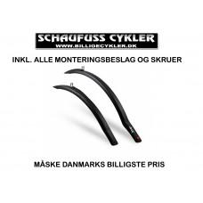 HEBIE RACE SKÆRMSÆT TIL RACE OG SPORTSCYKLER - 700C - SORT