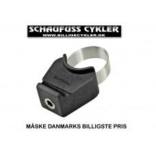 KLICKFIX CONTOUR BESLAG TIL SADELTASKE Ø 25-33 mm - SORT