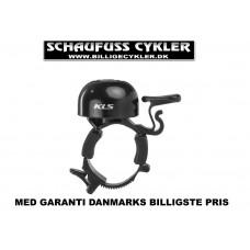 KLS BANG 30 RINGEKLOKKE MED SPÆNDEBÅND - 22,2 - 25,4MM - SORT