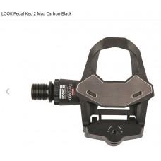 LOOK KEO 2 MAX CARBON PEDALER - BLACK