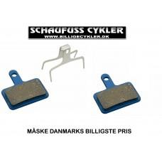 MARWI SKIVEBREMSEKLODSER - SHIMANO XTR 2011 - BLÅ