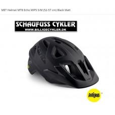 MET Helmet MTB Echo MIPS S/M 52-57CM Black Matt - S/M 52-57CM - MATSORT