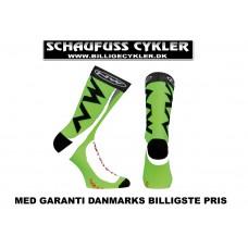 NORTHWAVE STRØMPER M 40-43 - 40-43 - SORT/GRØN