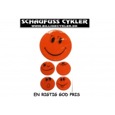 REFLEKSER MED SMILEY MOTIV ORANGE