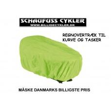 REGNOVERTRÆK TIL BAGKURV ELLER TASKE - 48 X 22 X 32CM - GUL