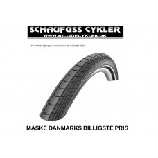 SCHWALBE BIG APPLE DÆK 26 x 2,00 (50-559) - 26 x 2,00 (50-559) - SORT
