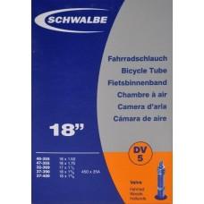 SCHWALBE SLANGE 22 X 1,3/8 DV 32MM