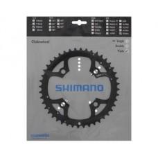 SHIMANO KLINGE  Ø104 3X9SP - 44T - SORT
