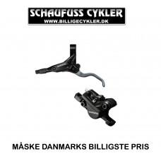 SHIMANO M425 HYDRAULISK SKIVEBREMSESÆT FRONT - 1000MM - SORT