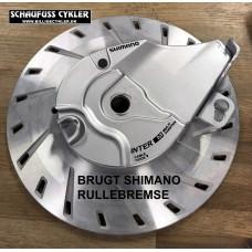 SHIMANO RULLEBREMSE FOR SØLV - BRUGT - Ingen