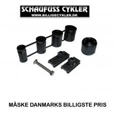 SKS MONTERINGS KIT TIL FORSKÆRM - SORT