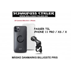 SP CONNECT HOLDER TIL iPHONE 11 PRO/XS/X - iPHONE 11 PRO/XS/X - SORT