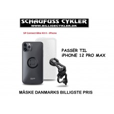 SP CONNECT HOLDER TIL iPHONE 12 PRO MAX - iPHONE 12 PRO MAX - SORT