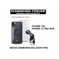 SP CONNECT HOLDER TIL iPHONE 12 PRO MAX - iPHONE 12 PRO MAX - SORT