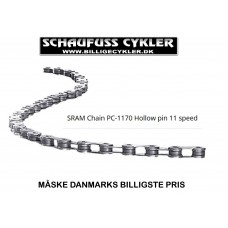 SRAM PC 1170 KÆDE HOLLOW PIN MED 114 LED - 11 SPEED
