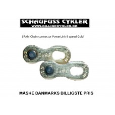 SRAM POWERLINK 9 SPEED GOLD SAMLELED