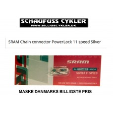 SRAM POWERLOCK SAMLELED TIL KÆDE SØLV - 11 SPEED - SØLV