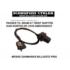SRAM S7 TWIST SHIFTER 1700MM FRA STURMEY ARCHER - 1700MM - SORT