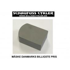 WINTHER DOLPHIN AFFJEDRINGSKLODS - 35 X 19 X 52MM - GRÅ