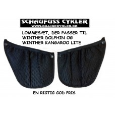 WINTHER DOLPHIN / KANGAROO LITE LOMMESÆT - SORT