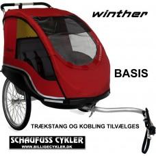 WINTHER DOLPHIN XL BASIS. - XL - RØD