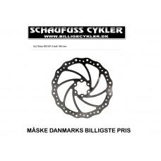 XLC BR-X01 BREMSESKIVE 6 HULLER 180MM