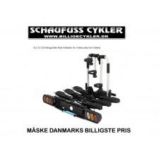 XLC BELUGA 3 CYKELHOLDER FOLDBAR - 3 CYKLER - SORT-SØLV