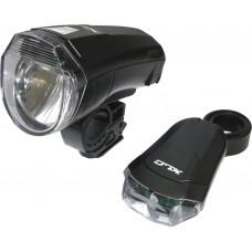 XLC CL-S14 10 LUX LED LYGTESÆT