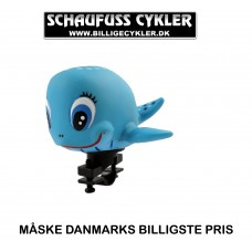 XLC CYKEL BÅT HORN BLÅ HVAL