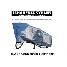 XLC CYKELGARAGE FORSTÆRKET - 100 X 200CM - GRÅ