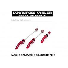 XLC QR-L05 PRO STIKAKSELSÆT COLOUR EDITION - RØD