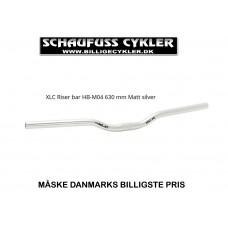 XLC RISER STYR SØLV 630mm H 50mm Ø25,4mm - SØLV