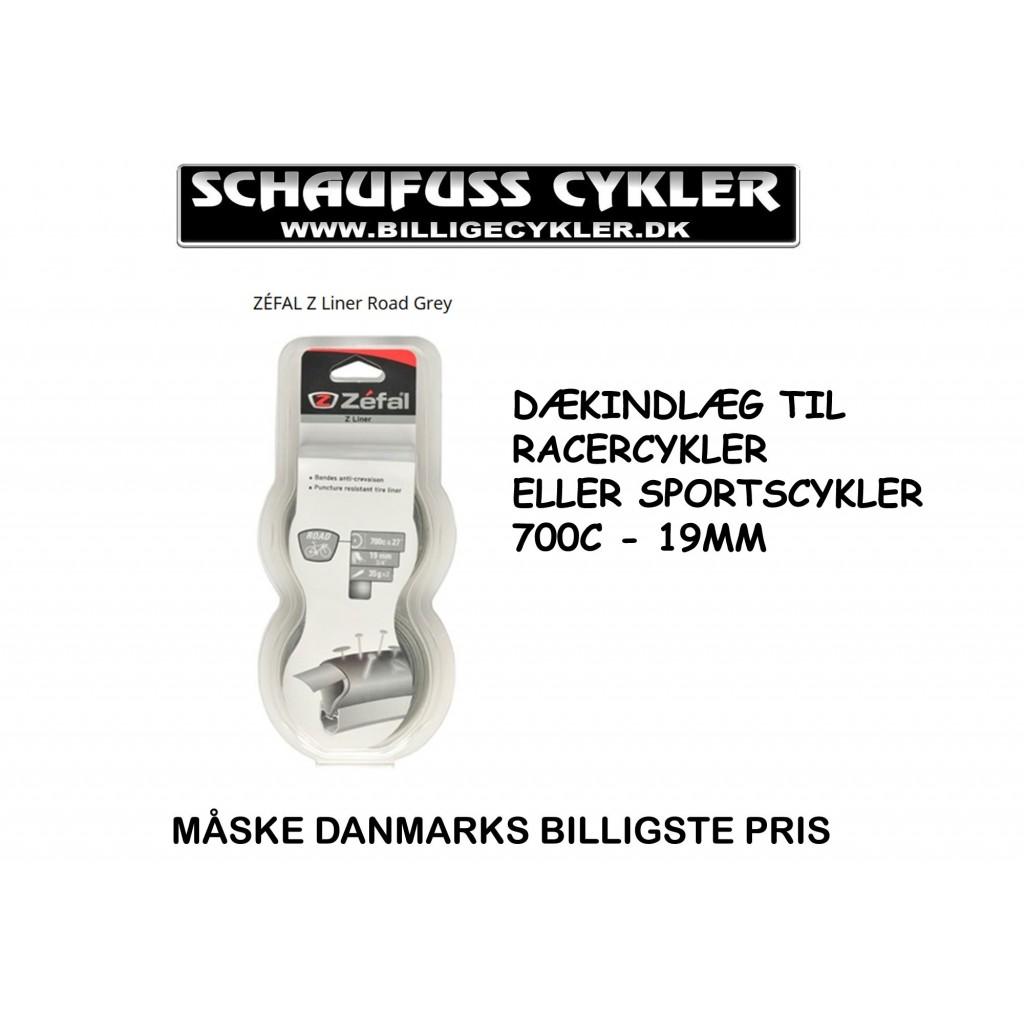 ZÉFAL Z LINER ROAD DÆKINDLÆG 700C - 19MM   dækindlæg